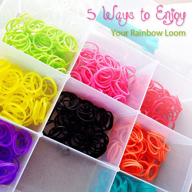 Rainbow loom til leg og hobby