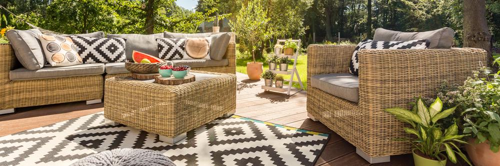 Sy selv flotte hynder til dine havemøbler